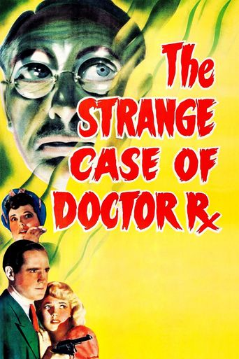 The Strange Case of Doctor Rx Poster