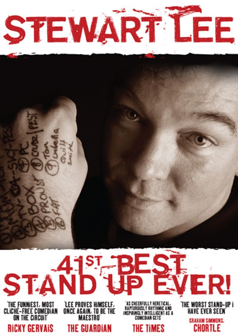 Stewart Lee: 41st Best Stand-Up Ever! Poster