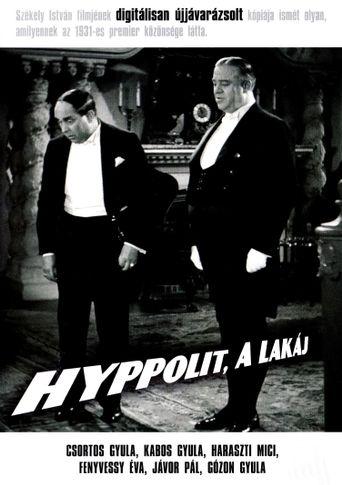 Hyppolit, the Butler Poster