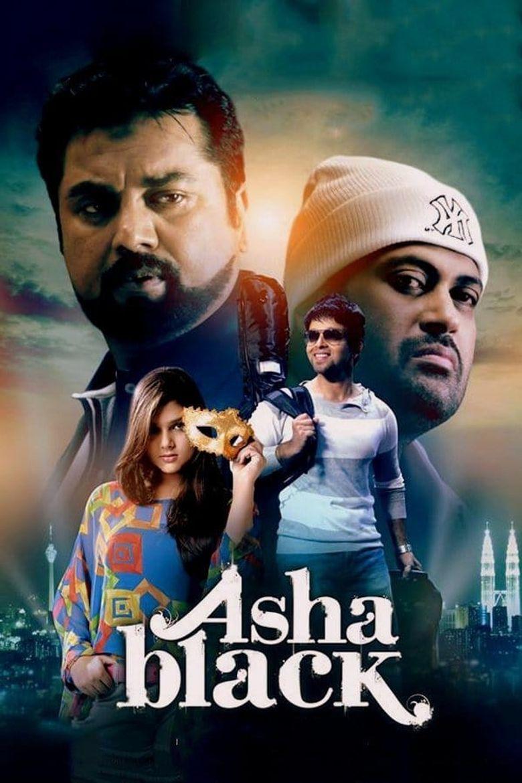 Asha Black Poster