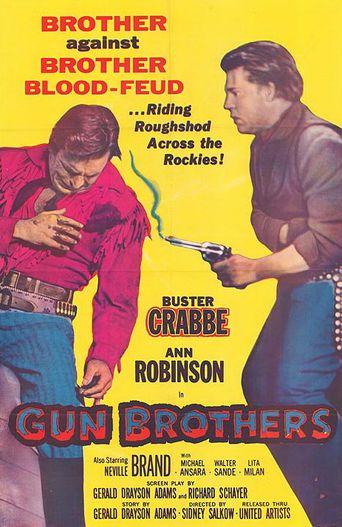 Gun Brothers Poster