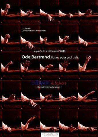 Ode Bertrand, lignée pour seul trait Poster