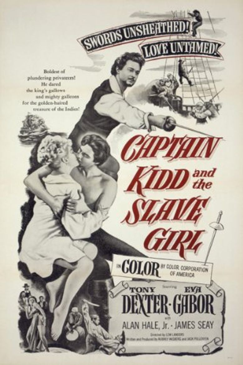 Captain Kidd and the Slave Girl Poster