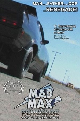 Mad Max Renegade Poster