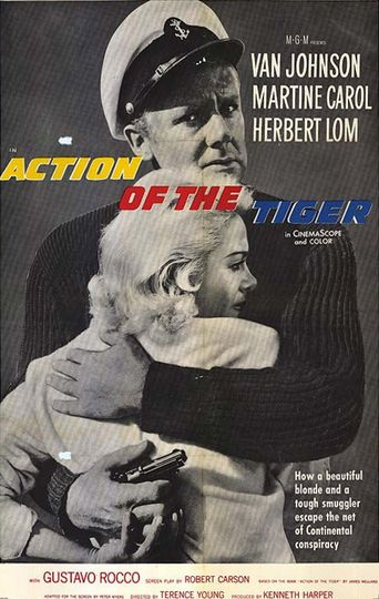 Action of the Tiger Poster