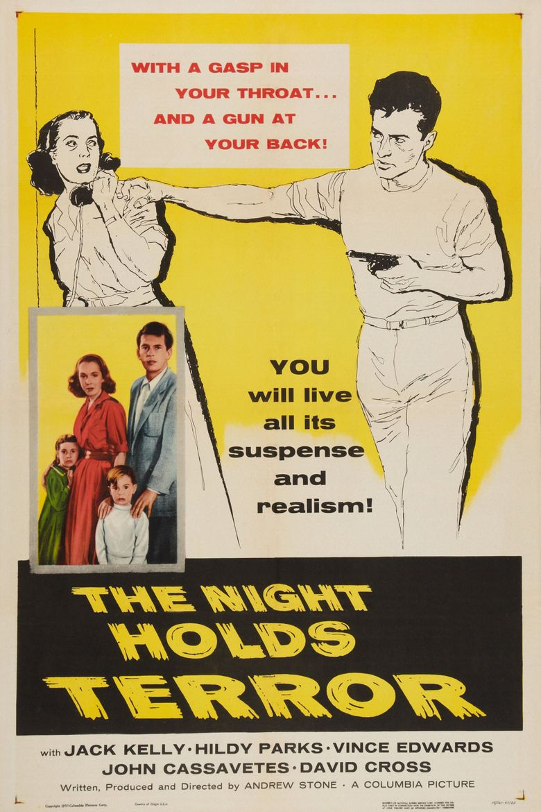 The Night Holds Terror Poster