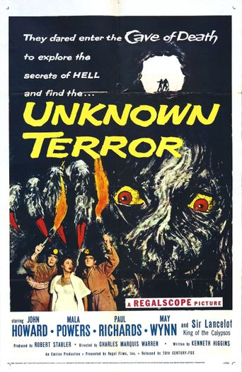 The Unknown Terror Poster