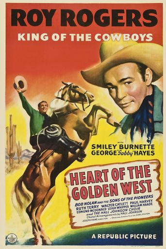 Watch Heart of the Golden West