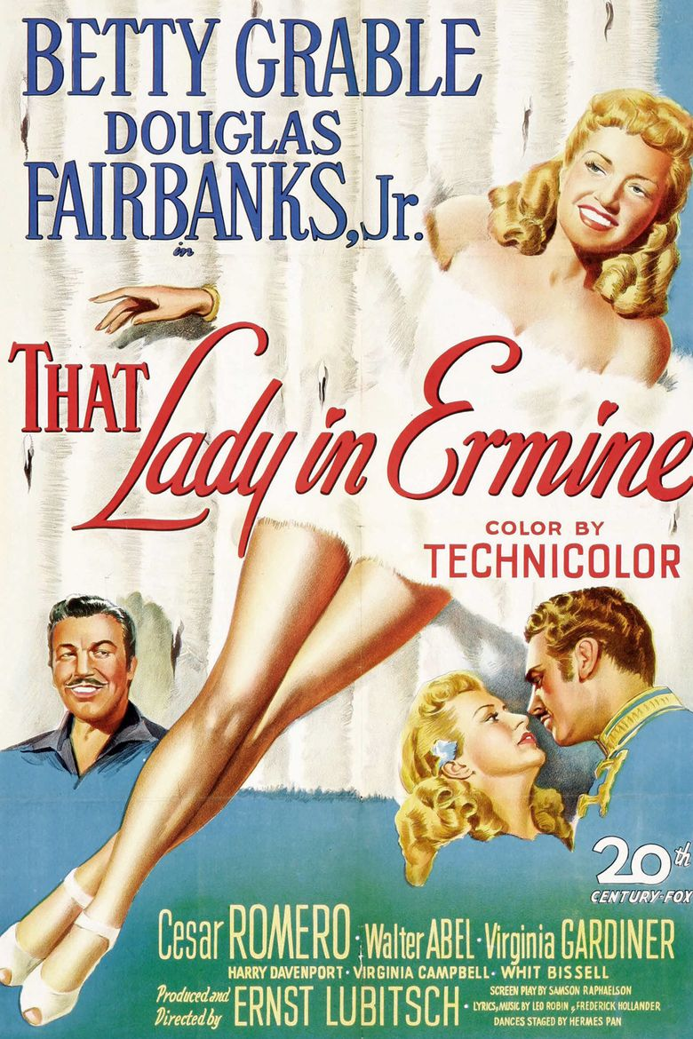 That Lady in Ermine Poster