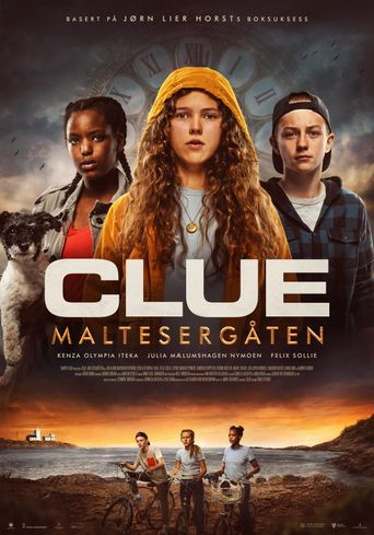 Clue: Maltesergåten Poster