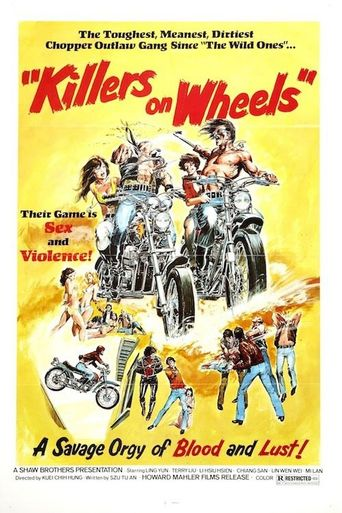 Killers on Wheels Poster