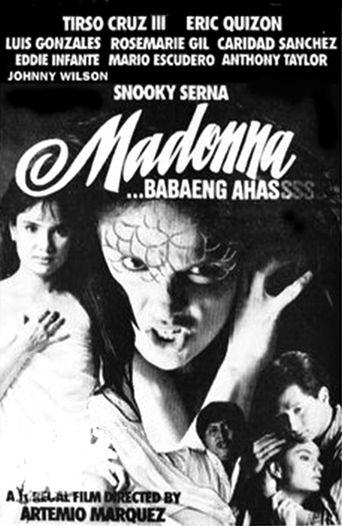 Madonna, Snake Woman Poster