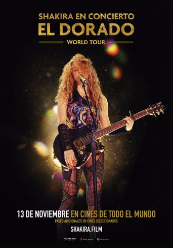 Shakira - El Dorado Tour - Hamburg Poster