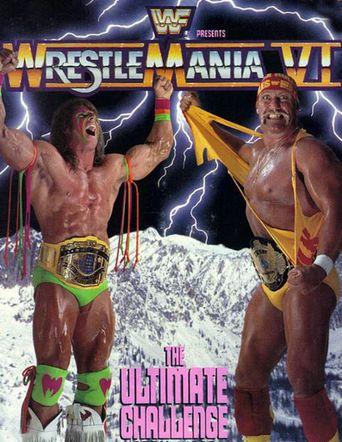 WWE WrestleMania VI Poster