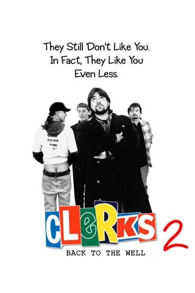 Back to the Well: 'Clerks II' Poster