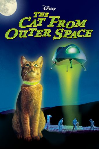 The Cat from Outer Space Poster