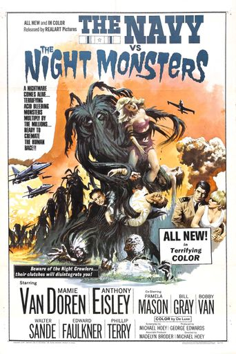 The Navy vs. the Night Monsters Poster