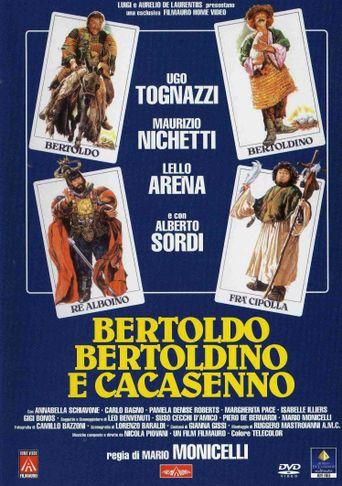 Bertoldo, Bertoldino e Cacasenno Poster