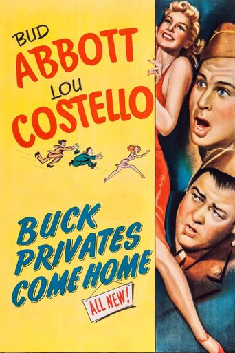 Buck Privates Come Home Poster