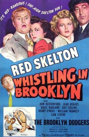 Whistling in Brooklyn Poster