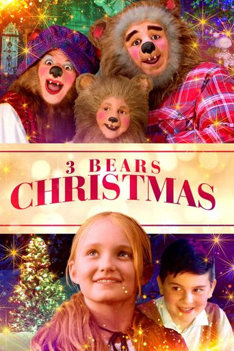 3 Bears Christmas Poster