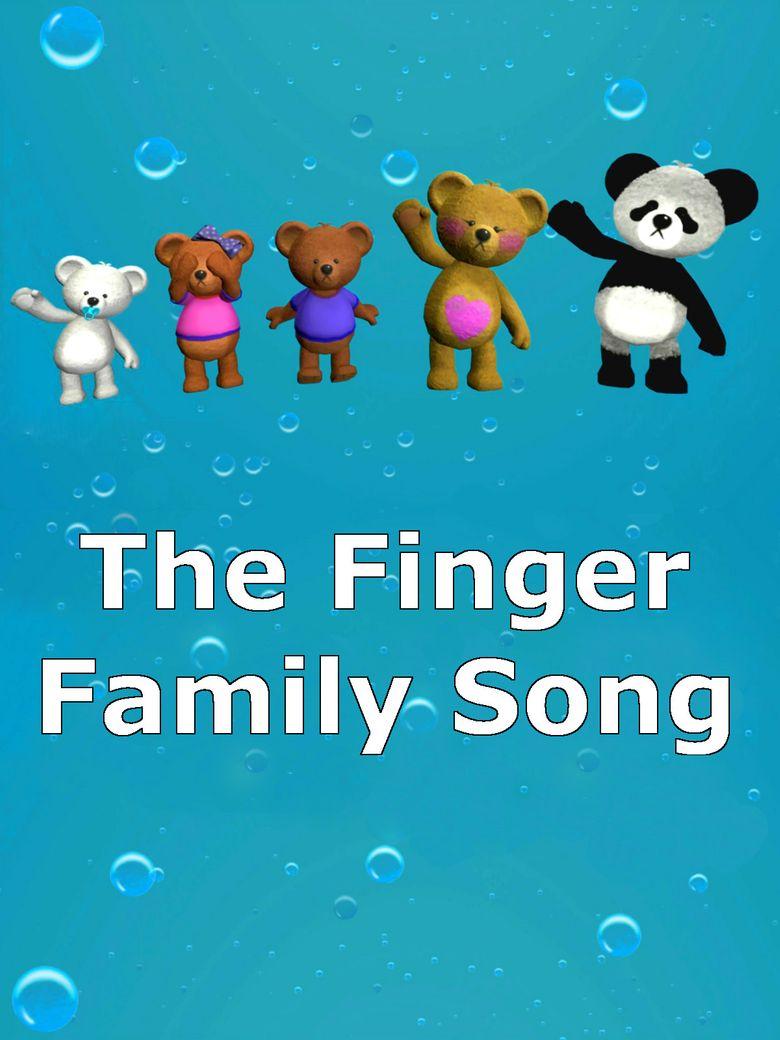 Finger Family Song Poster
