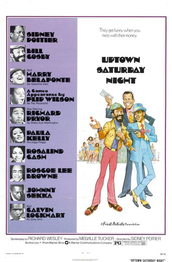 Uptown Saturday Night Poster
