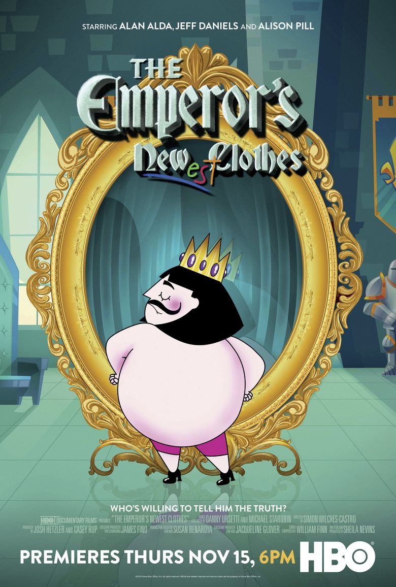 The Emperor's Newest Clothes Poster