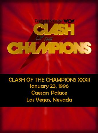 WCW Clash of the Champions XXXII Poster