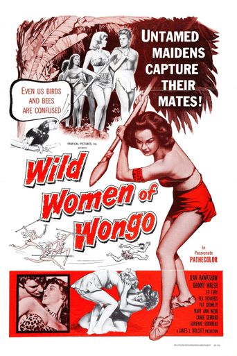 The Wild Women of Wongo Poster