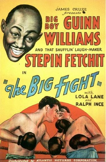 The Big Fight Poster