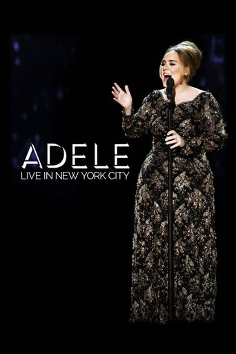 Adele Live in New York City Poster