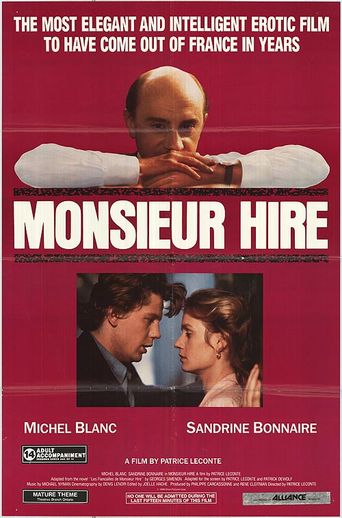 Monsieur Hire Poster