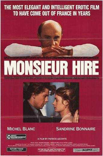 Monsieur Hire Poster