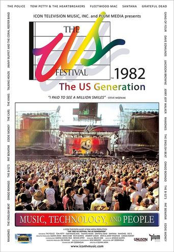 The US Festival 1982: The US Generation Documentary Poster