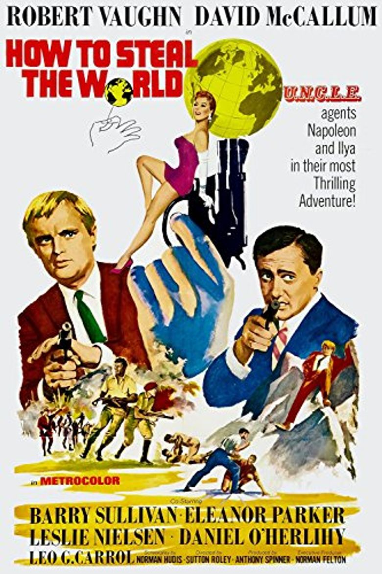 How to Steal the World Poster