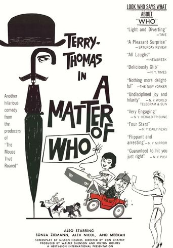A Matter of WHO Poster