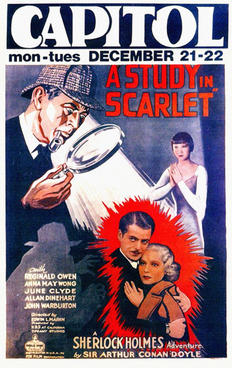 A Study in Scarlet Poster
