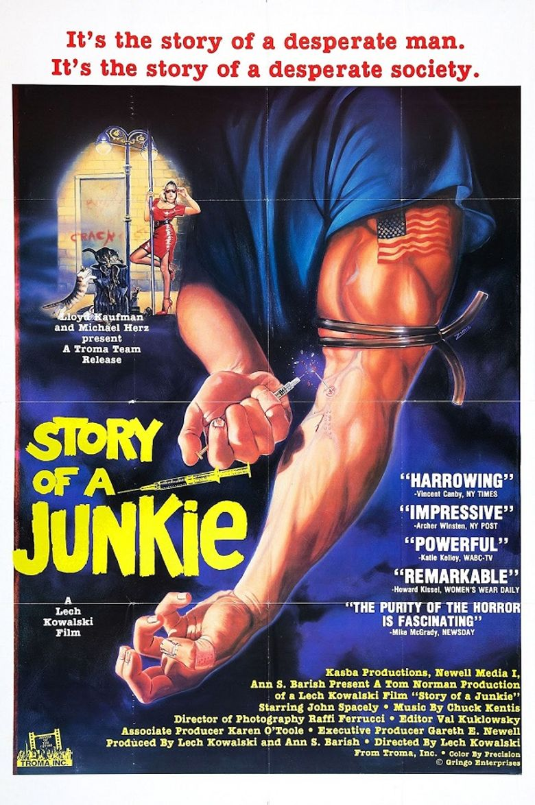 Story of a Junkie Poster