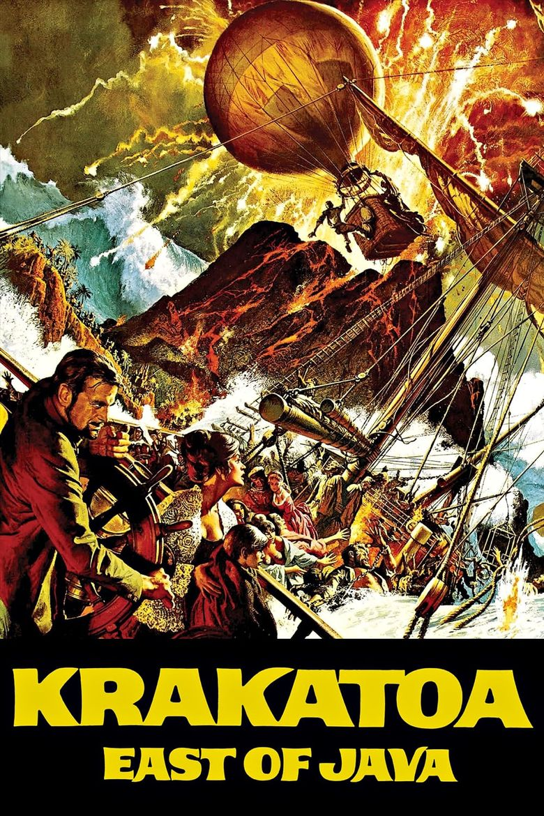 Krakatoa, East of Java Poster