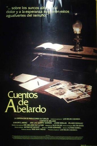 Cuentos de Abelardo Poster
