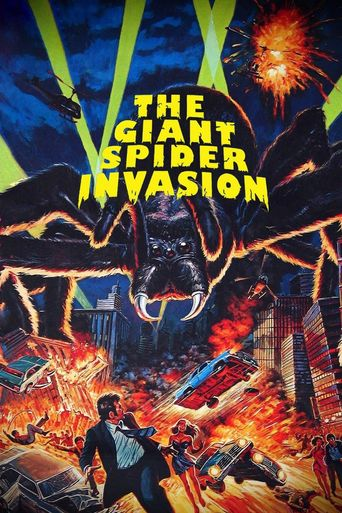 The Giant Spider Invasion Poster