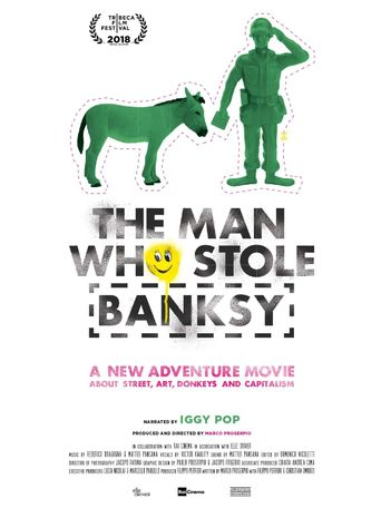 The Man Who Stole Banksy Poster