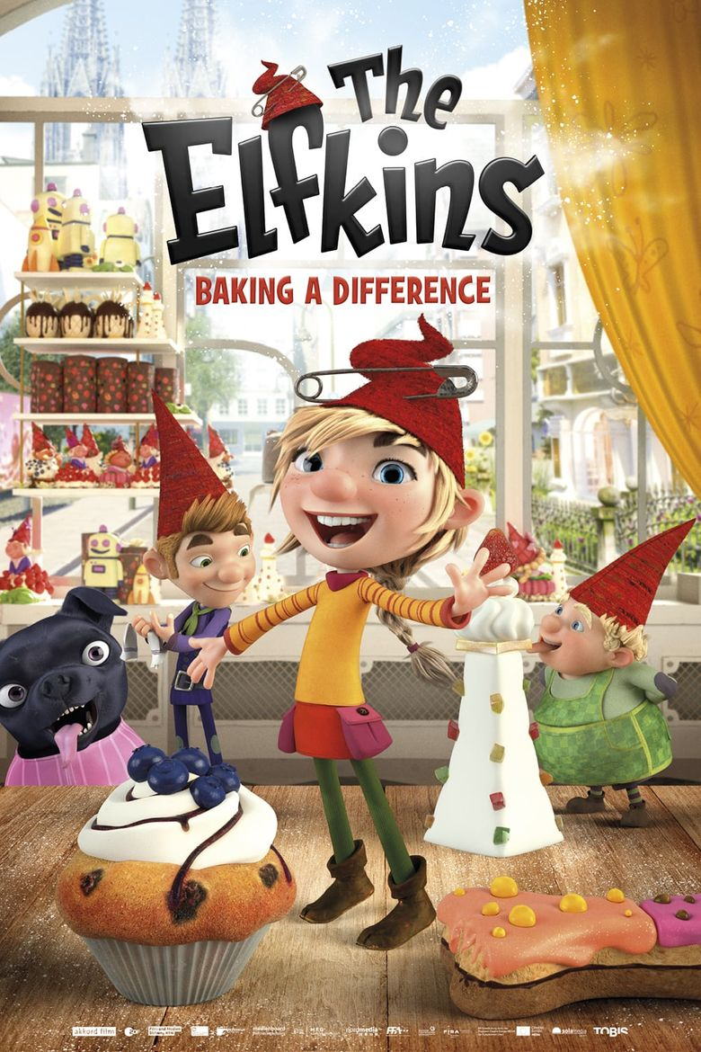 The Elfkins - Baking a Difference Poster