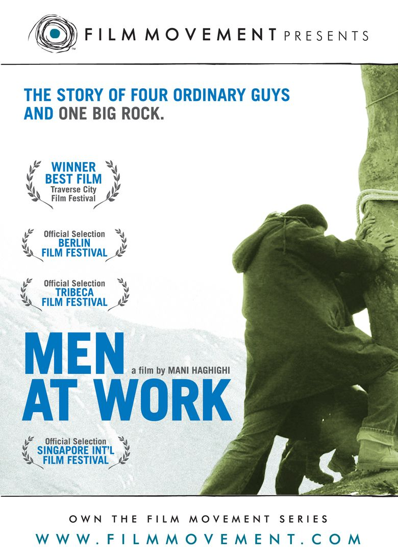 Men at Work Poster