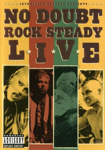 No Doubt - Rock Steady Live Poster