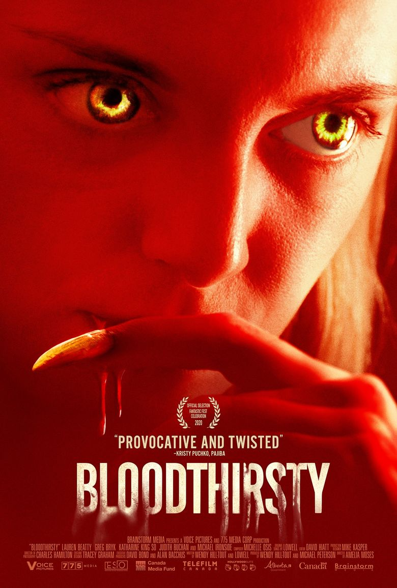 Bloodthirsty Poster