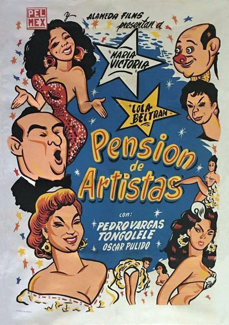 Pensión de artistas Poster