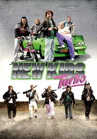 New Kids Turbo Poster