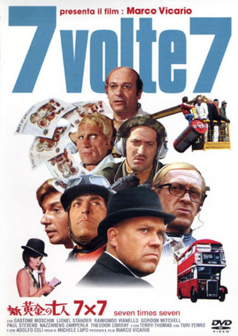 Seven Times Seven Poster